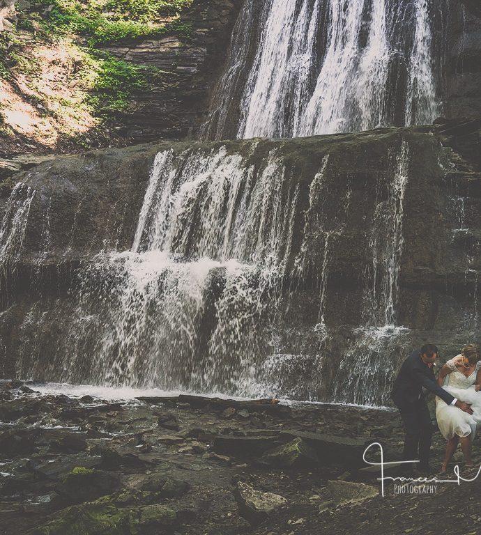 Falls Inn & Spa Wedding