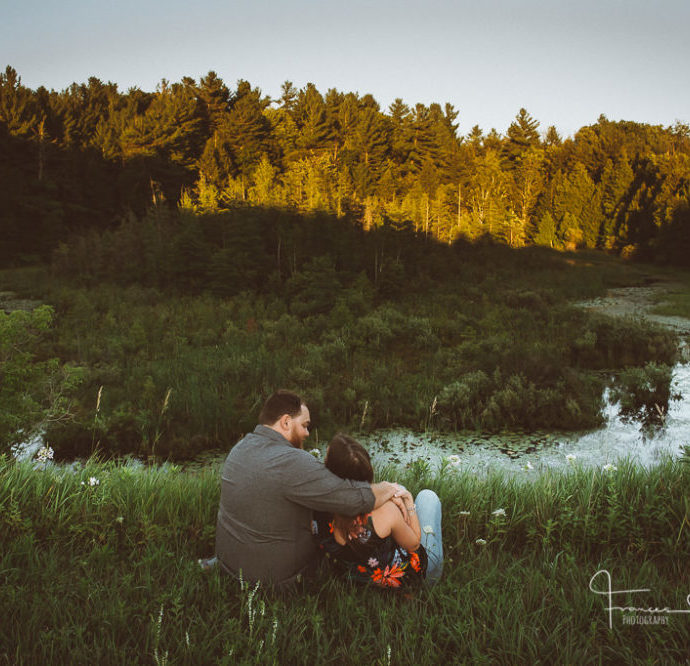 Palgrave Country Engagement Photography at the Pond and Trails.
