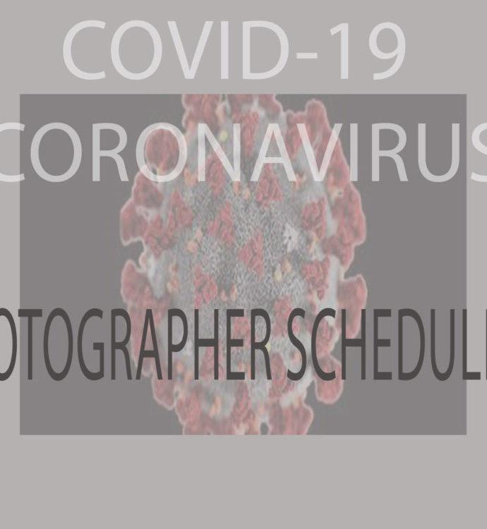 COVID-19 Photographer Availability